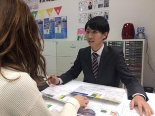 エイブル石橋阪大前店の接客写真