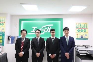 エイブル神戸国際センターのスタッフ写真
