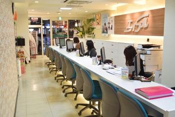 エイブルネットワーク都島店の内観写真