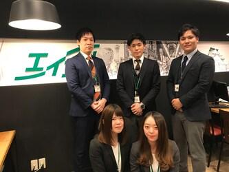 エイブルネットワーク日本橋店のスタッフ写真