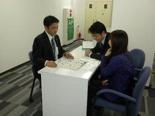 エイブルネットワーク釧路駅前店の接客写真