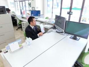 エイブルネットワーク熊本中央店の接客写真