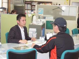 エイブルネットワーク会津若松店の接客写真