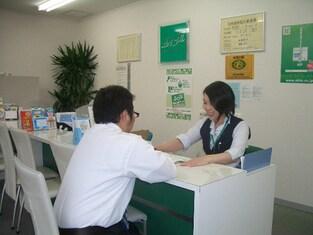 エイブルネットワーク宇都宮中央店の接客写真