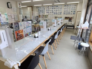 エイブルネットワーク新潟大学前店の内観写真
