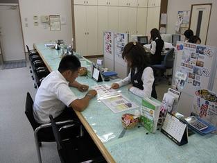 エイブルネットワーク新潟大学前店の接客写真