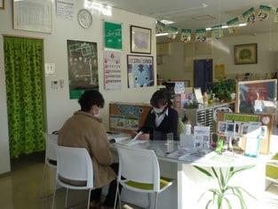 エイブルネットワーク富山大学前店の接客写真