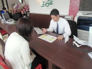 エイブルネットワーク秋田東店の接客写真