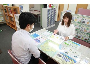 エイブルネットワーク新潟東店の接客写真