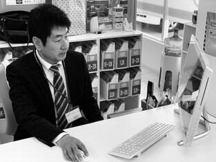 エイブルネットワーク小松島店の接客写真