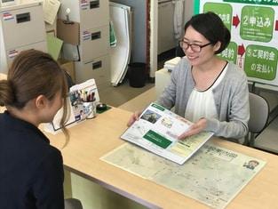 エイブルネットワーク新潟亀田店の接客写真