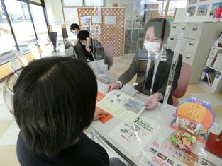 エイブルネットワーク四日市北店の接客写真