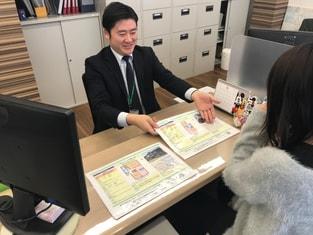 エイブルネットワーク松本店の接客写真