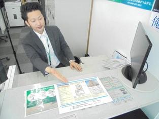 エイブルネットワーク松本インター店の接客写真