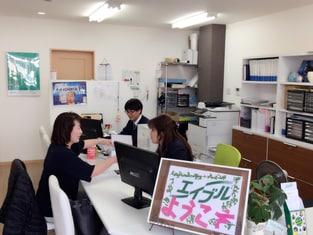 エイブルネットワーク姫路駅南店の接客写真